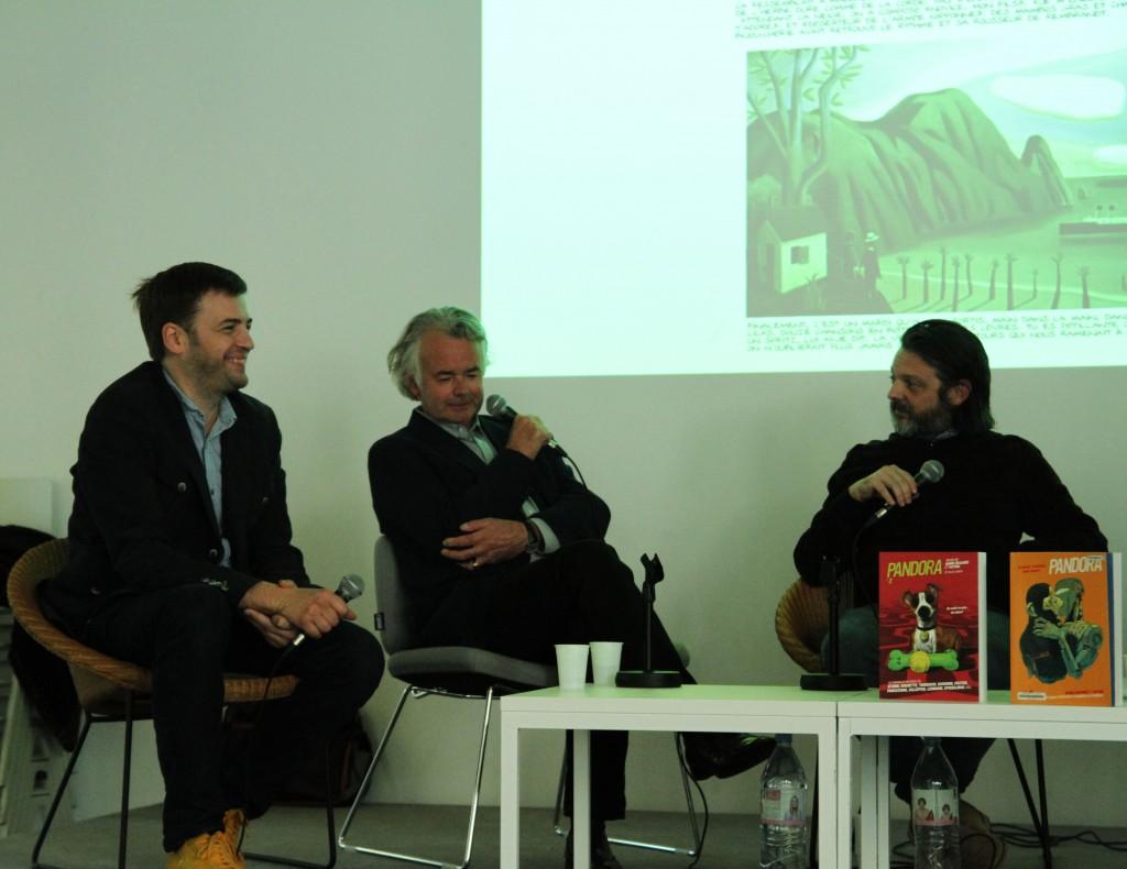 Benoît Mouchart, Jacques de Loustal et Gilles rochier